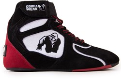 "Chicago High Tops - Black/White/Red ""Limited"""