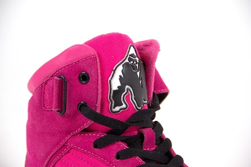 Gorilla Wear High Tops - Roze-1