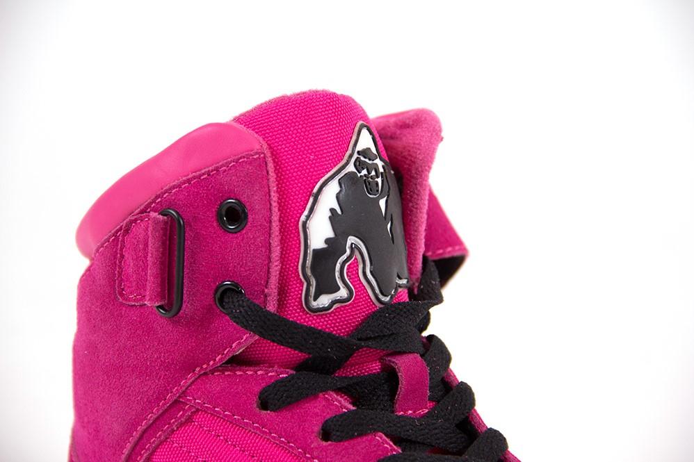 Gorilla Wear High Tops - Pink Gorilla Wear