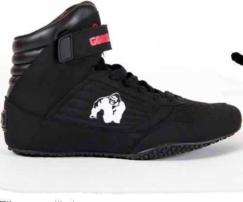 Gorilla Wear HIGH Tops Fitness Bodybuilding Schuh Black//Schwarz EU48