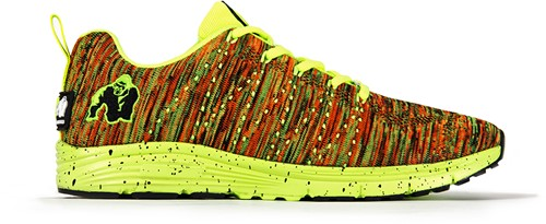 Brooklyn knitted sneakers - Neon mix - EU 41