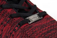 Brooklyn Knitted Sportschoenen - Rood/Zwart-3