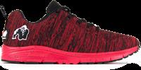 Brooklyn Knitted Sportschoenen - Rood/Zwart