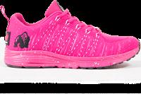 Brooklyn Knitted Sneakers - Roze/Wit