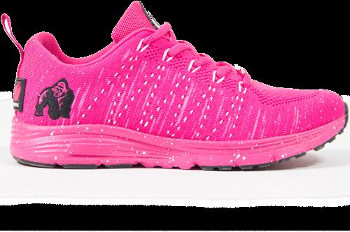 Brooklyn Knitted Sportschoenen - Roze/Wit