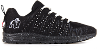Brooklyn knitted sneakers - Zwart/Wit