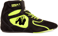 Chicago High Tops - Zwart/Neon Lime Limited