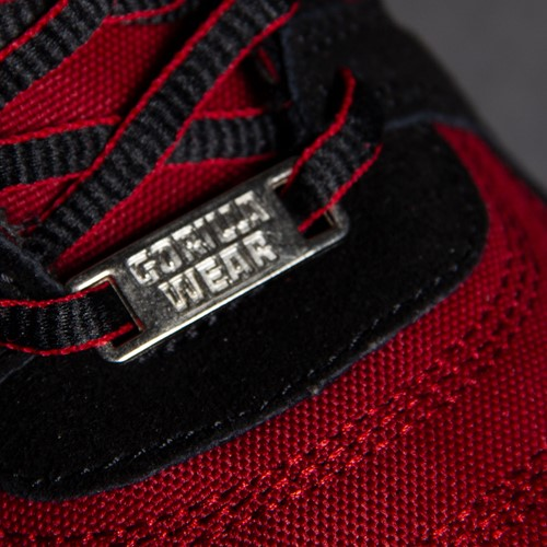 Perry High Tops Pro - Red/Black - Detail