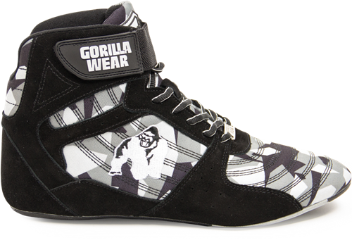 Perry High Tops Pro - Zwart/Grijs Camo
