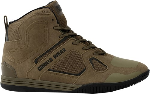 Troy High Tops - Army Green