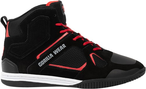 Troy High Tops - Black/Red