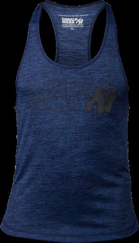 Austin Tank Top - Marineblauw/Zwart