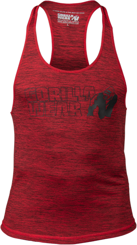 Austin Tank Top - Rood/Zwart