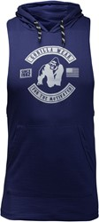 Lawrence Hooded Tank Top - Navy