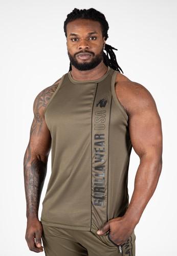 Herren Stringer Tank Top Fitness Bekleidung M/änner Evansville GORILLA WEAR