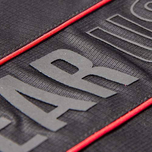 Branson Tank Top Black Red Detail