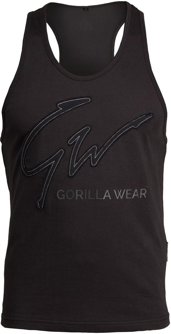 Details about  /Gorilla Wear Evansville Tank Top Black Bodybuilding Fitness