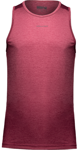 Madera Tank Top - Burgundy Red