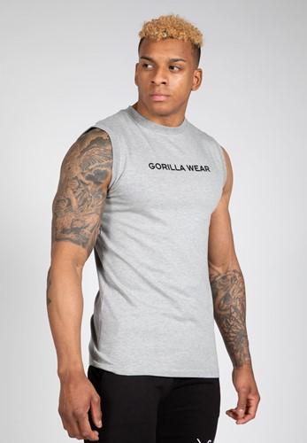 Sorrento Mouwloos T-Shirt - Grijs