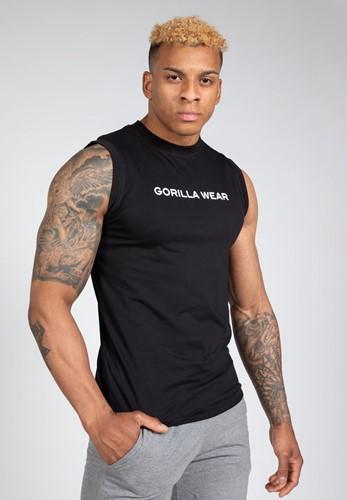 Sorrento Mouwloos T-Shirt - Zwart