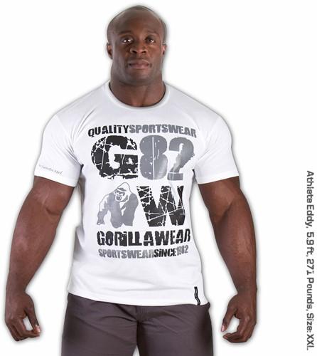82 T-shirt - Wit