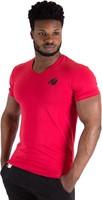 Essential V-Hals T-Shirt - Rood