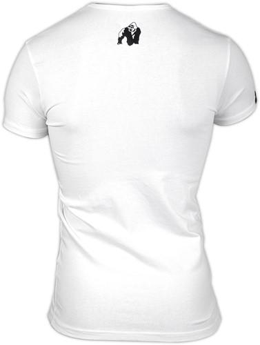 Essential V-Hals T-Shirt - Wit-2