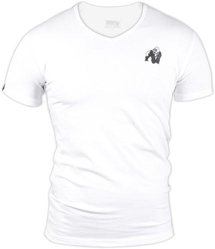 Essential V-Hals T-Shirt - Wit-3