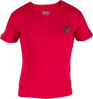 Essential V-Hals T-Shirt - Rood-3
