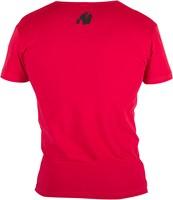 Essential V-Hals T-Shirt - Rood-2