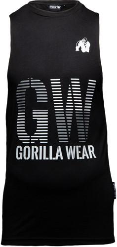 Dakota Mouwloos T-Shirt - Zwart