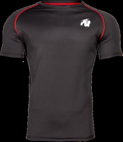 Performance T-shirt - Zwart/Rood