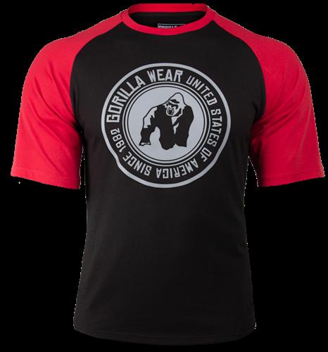 Texas T-shirt - Zwart/Rood