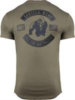 Detroit T-shirt - Legergroen-2