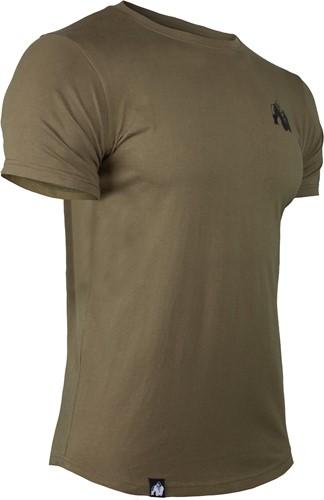 Detroit T-shirt - Legergroen-3