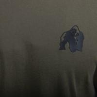 Detroit T-shirt - Army Green - Detail