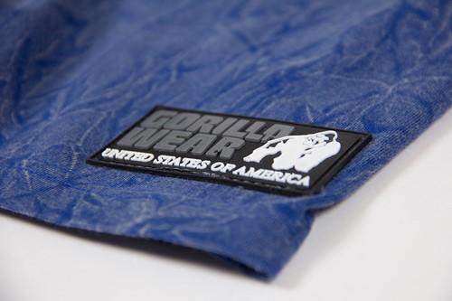 Rocklin T-shirt - Royal Blue - Detail