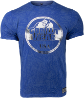 Rocklin T-shirt - Blauw