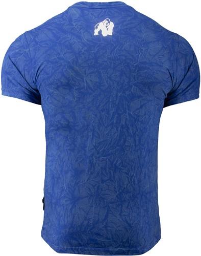 Rocklin T-shirt - Blauw-2