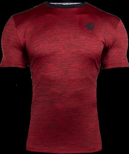 Roy T-shirt - Rood/Zwart