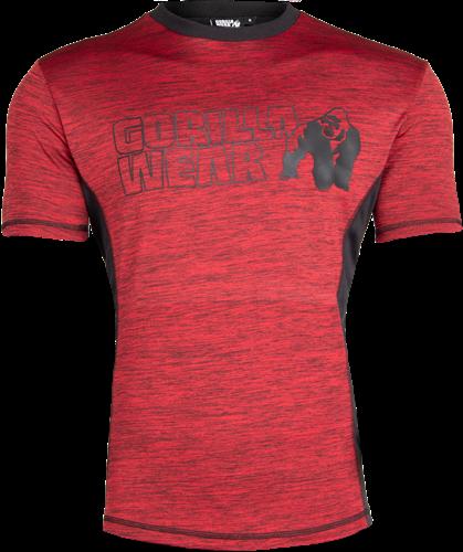 Austin T-shirt - Rood/Zwart