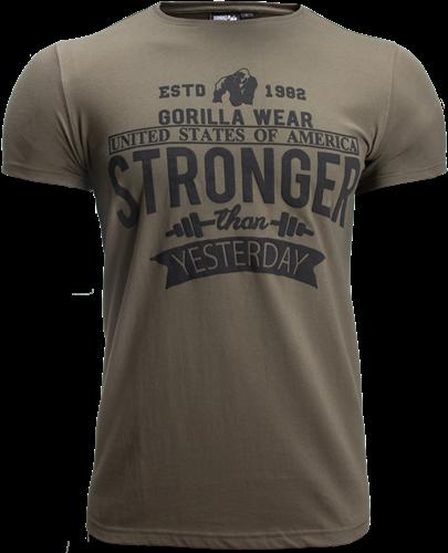 Hobbs T-shirt - Legergroen