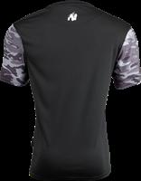 Kansas T-shirt - Zwart/Grijs Camo-2
