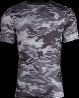 Kansas T-shirt - Zwart/Grijs Camo