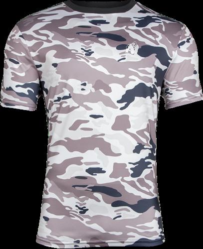 Kansas T-shirt - Beige Camo - 4XL