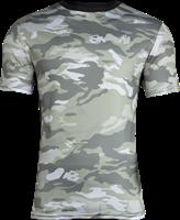 Kansas T-shirt - Legergroen Camo