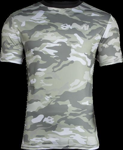 Kansas T-shirt - Legergroen Camo - M