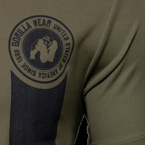 Forbes T-Shirt - Legergroen-3