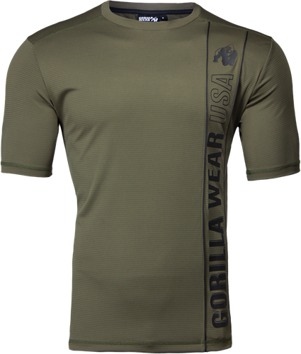 Branson T-shirt - Legergroen/Zwart - 2XL