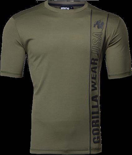 Branson T-shirt - Legergroen/Zwart